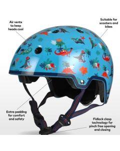 Micro Childrens Boys Helmet 48-54cm Small