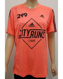 Adidas City Runs Event T Shirt Orange XSmall 30pk
