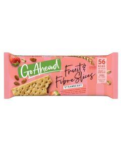 Go Ahead Fruit & Fibre Slices Strawberry 22 x 5pk