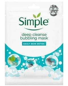 Simple Deep Cleanse Bubbling Mask 20pk