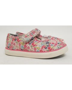 Seconds StartRite Blossom Canvas Shoe UK 4-8 9pk