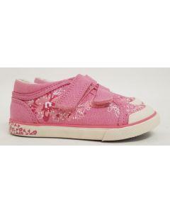 Seconds StartRite Pink Canvas Shoe UK 8.5-11.5 7pk