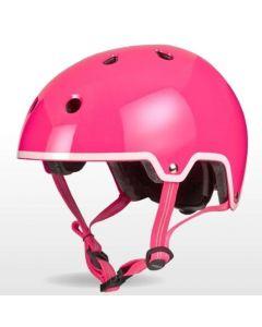 Micro Childrens Girls Plain Helmet 48-53cm Small