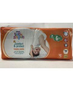 Asda Comfort & Protect Nappy Pants Size 6 4x34pk
