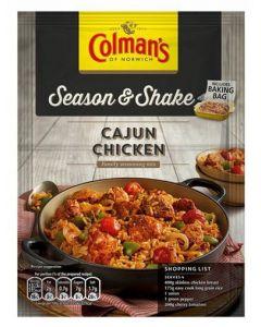 Colmans Season & Shake Cajun Chicken 15x45g