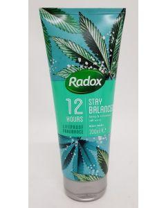 Radox Stay Balanced Body Wash 6 x 200ml