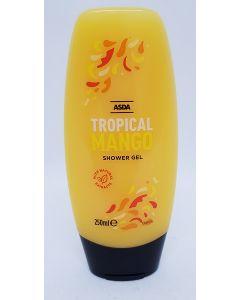 Asda Tropical Mango Shower Gel 6 x 250ml