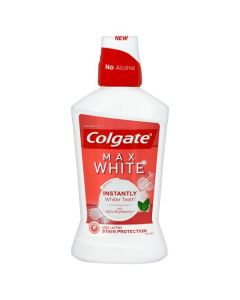 Colgate Max White Mouthwash 500ml