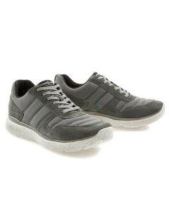 Springuru Unisex Lace Up Shoes Silver UK5