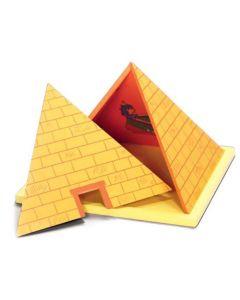 Yellow Door Wooden Pyramid 10pk