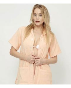 Mabes Mandarin Terry Shirt Small