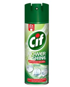 CIF Citrus Burst Bathroom Cleaning Mousse 6x500ml