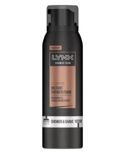 Lynx Copper Shower & Shave Foam 200ml x 6pk