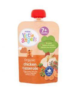 ASDA  Organic Chicken Casserole 7m+ 130gx6pk