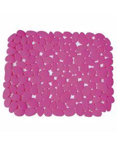 PVC Sink MAT Pebbles-Pink