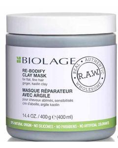 Biolage RAW Re Bodify Clay Mask 400g x 6pk