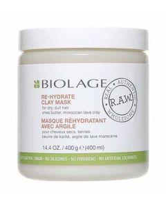 Biolage RAW Re Hydrate Clay Mask 400g x 6pk