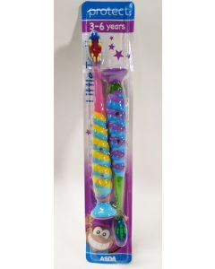 Asda Protect Kids Toothbrush 3-6yrs 9 x 2pk