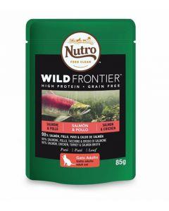 Nutro Wild Frontier Cat Food Salmon&Chicken 24x85g