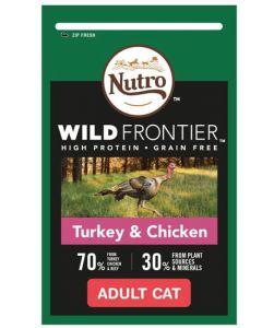 Nutro Wild Frontier Cat Food Turkey&Chicken 24x85g