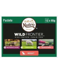 Nutro Wild Frontier Wet Cat Food Mixed Pk 12 x 85g