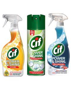 Cif Power & Shine Cleaner - 12 ass'd