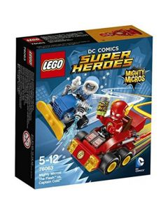 LEGO 76063 Mighty Micros Flash vs Captain Cold 8pk