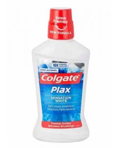 Colgate Plax Sensation White Mouth Wash 500ml