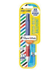 Papermate Inkjoy 4 in 1 Ballpoint Pen 12pk