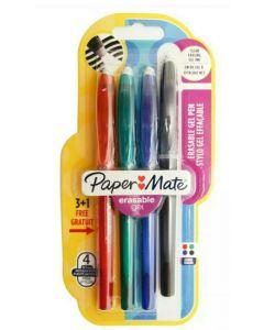 Papermate Erasable Gel Pens 4×12pk