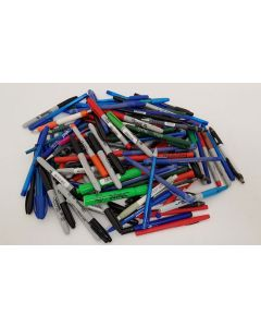 Lucky Dip Box of approx 100 Pens / Pencils