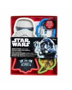 Star Wars Cookie Cutters 6pk