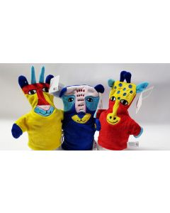 Tiger Hand Puppets 3 Designs 36pk