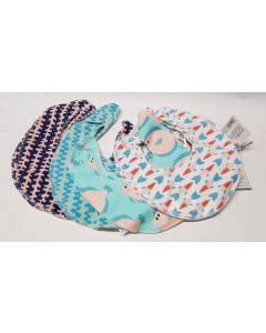 Tiger Baby Bibs 4 designs x 12pk