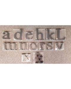 Tiger Assorted MDF Black Letters 50pk