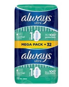 Always Ultra Normal With Wings 6 x 32pk