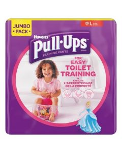 Huggies Pull Up Training Pants Girls L 4x28pk