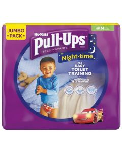 Huggies Pull Up Night Pants Boys M 4x28pk