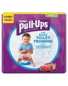 Huggies Pull Up Training Pants Boys M 4x31pk