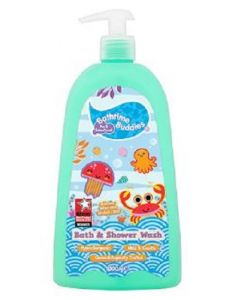 Bath Time Buddies Bath & Shower Wash 1 Ltr