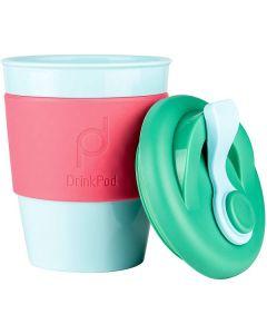 DrinkPod 12oz/340 ml Reusable Coffee Cup