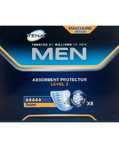 Tena Men Level 3 Absorbent Protector 8pk
