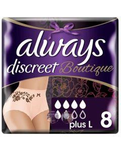 Always Discreet Boutique Plus Large 8pk