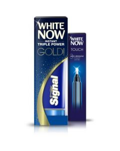 White Now Touch Whitening Pen & Gold Toothpaste