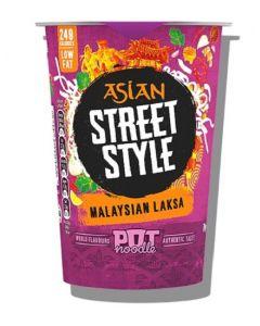 Asian Street Style MalaysianLaksa Pot Noodle 8x70g