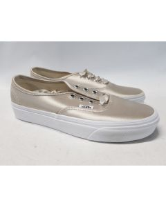 Vans Unisex Authentic Satin Lux Silver EU36