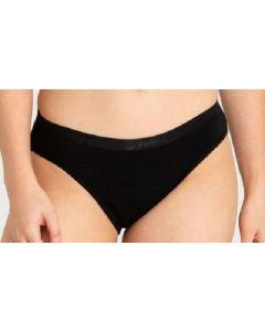 Modibodi Classic Bikini Pants Black Size 12 x 10pk