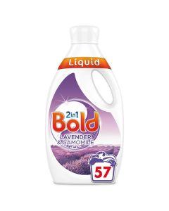Bold 2in1 Laundry Washing Liquid 4x1.995L