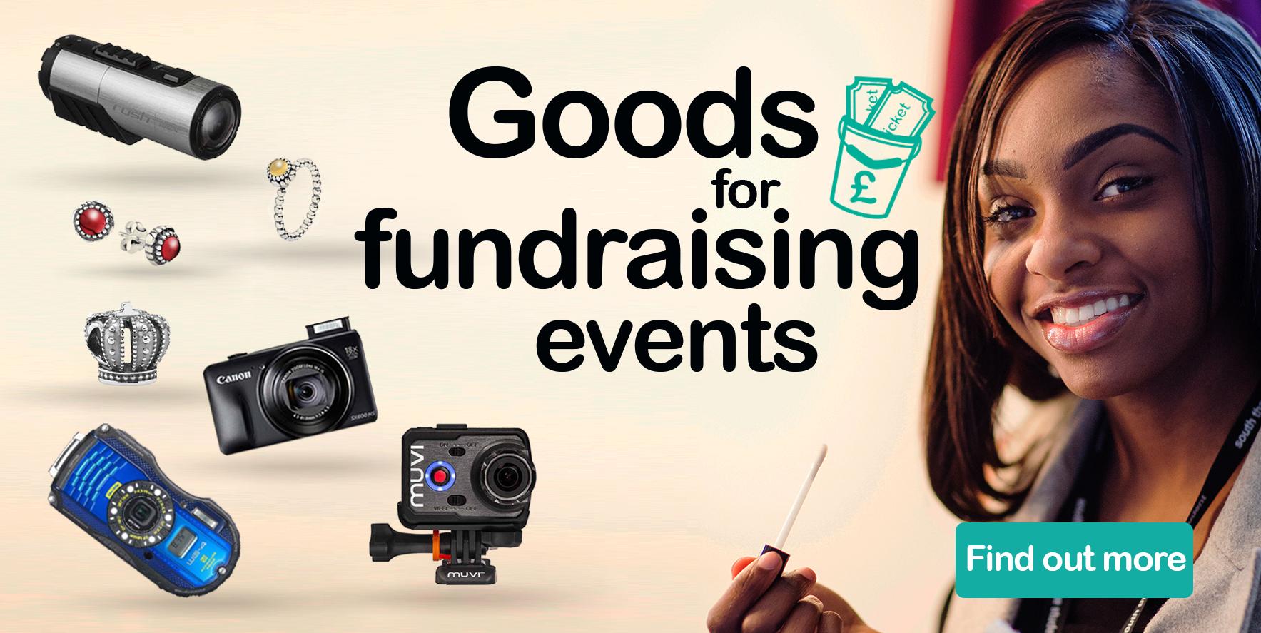 Goods for fundraising