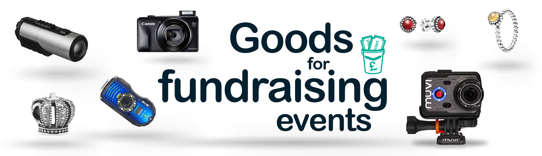 Goods for Fundraising Events
